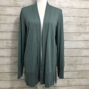 Ann Taylor | Open Front Cardigan | Size XL